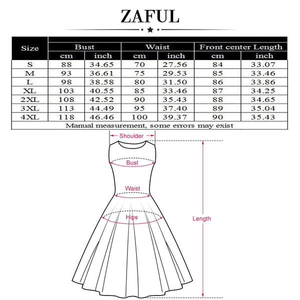 Zaful Hepburn Vintage Series Women Dress Spring And Summer Straps Fashion Dot Printing Bowknot Chest Design Sleeveless Corset Retro Dress