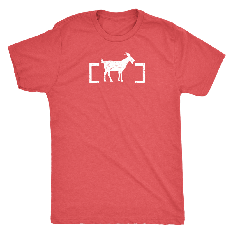 Unbordered GOAT (white print) - Unbordered Gear