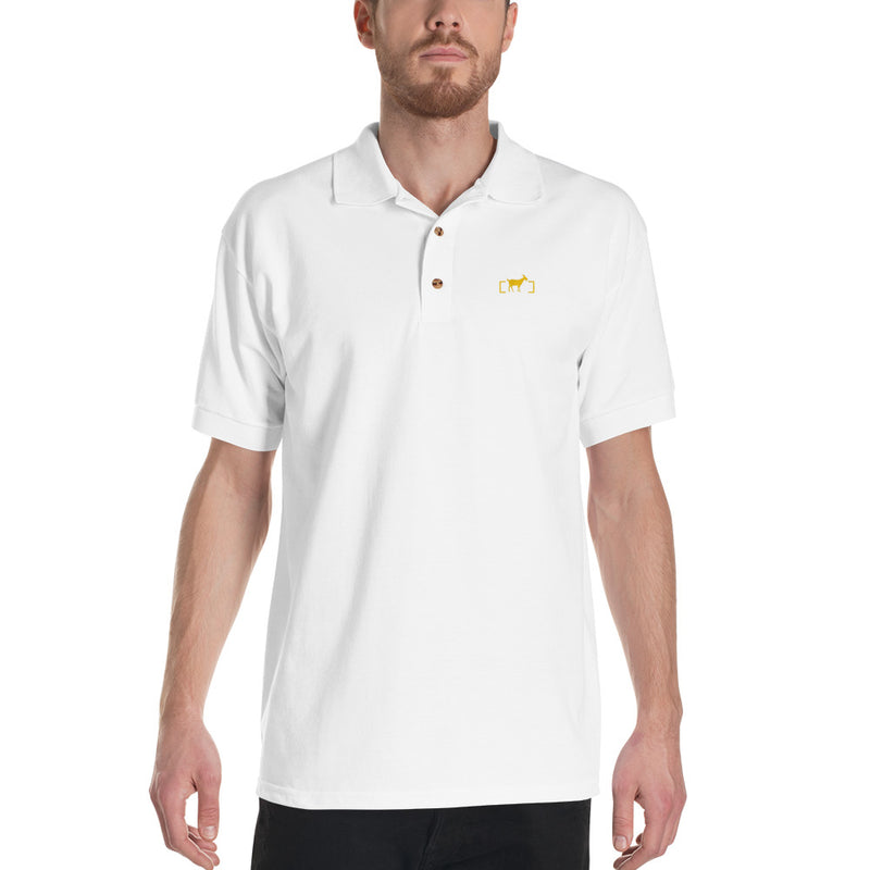 Gold Goat Polo - Unbordered Gear