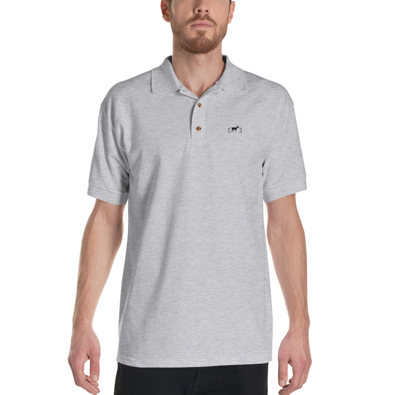 Black Goat Polo - Unbordered Gear