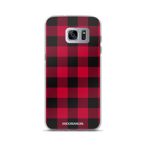 Flannel Samsung Case