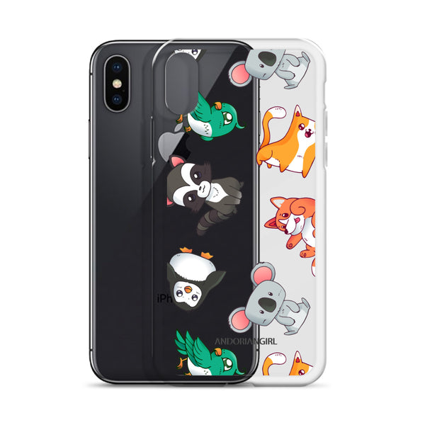 Floating Cuties iPhone Case