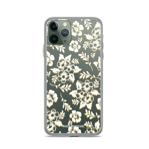 Flower Power iPhone Case - White