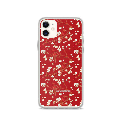 Woodpecks iPhone Case
