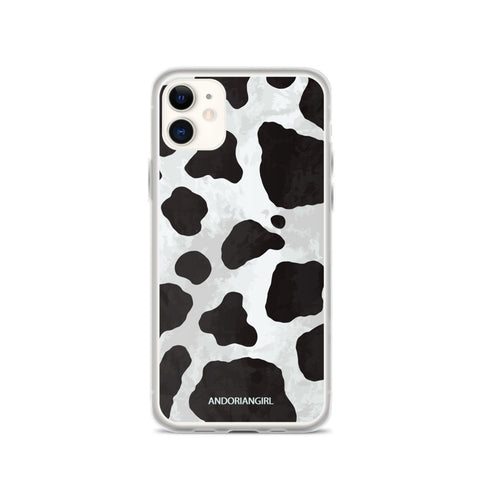 Wild Cow iPhone Case