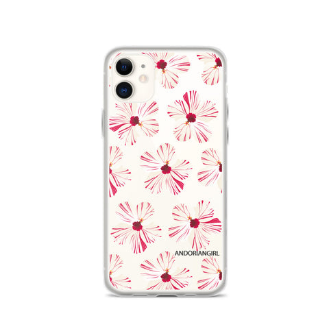 Hibiscus Power iPhone Case - White
