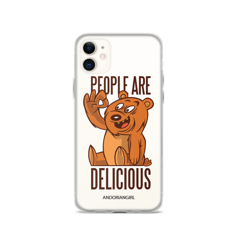 People Are Delicious iPhone Case