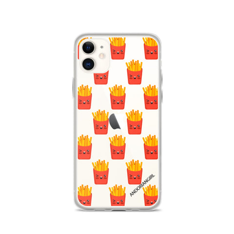 Fries Thoughts iPhone Case