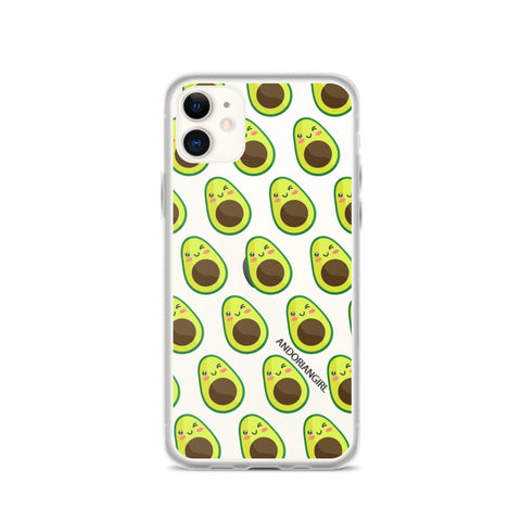 Aguacate Thoughts iPhone Case