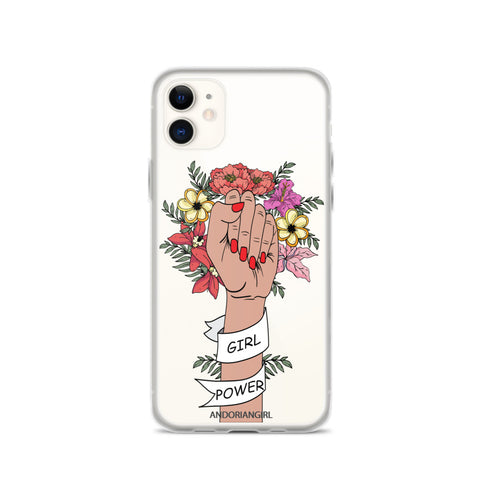 Girl Power iPhone Case - Medium