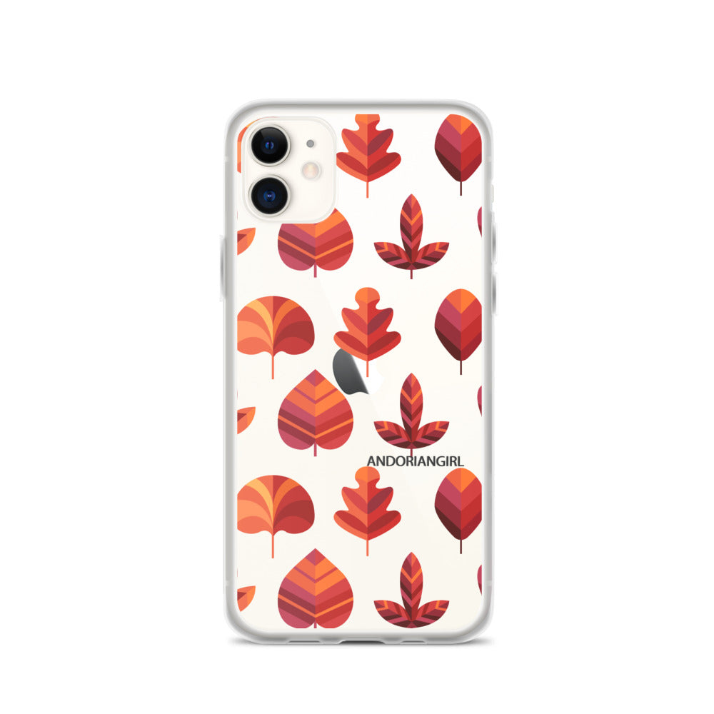 Falling For Leaves iPhone Case