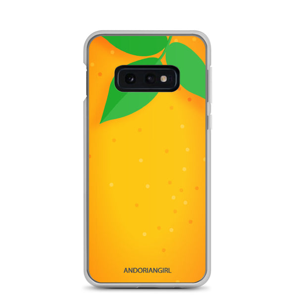 Orange Thoughts Samsung Case