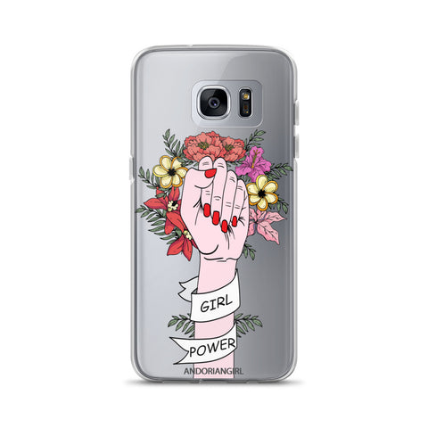 Girl Power Samsung Case - Light