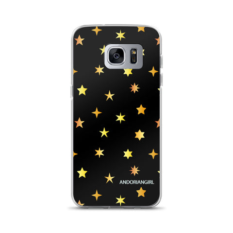 Golden Stars Samsung Case