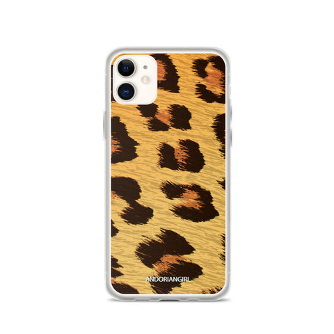 Wild Leopard iPhone Case