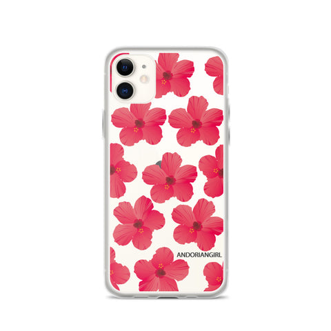 Hibiscus Power iPhone Case - Pink