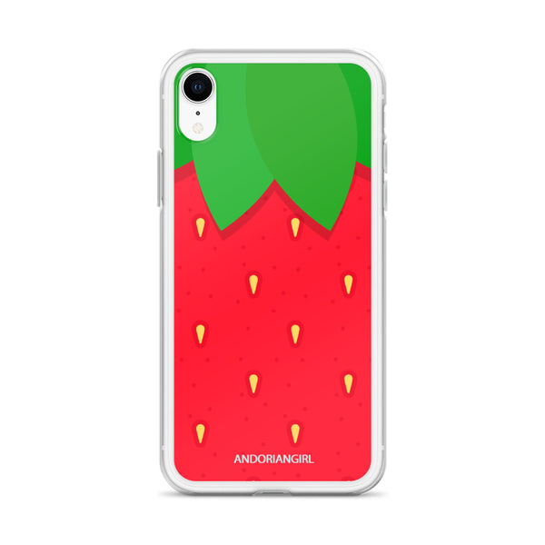 Strawberry Thoughts iPhone Case