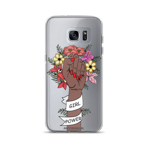 Girl Power Samsung Case - Dark
