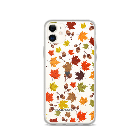 Falling For Acorn iPhone Case