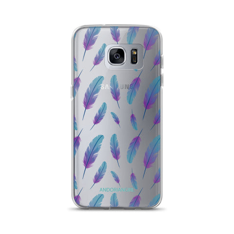 Feathers Samsung Case