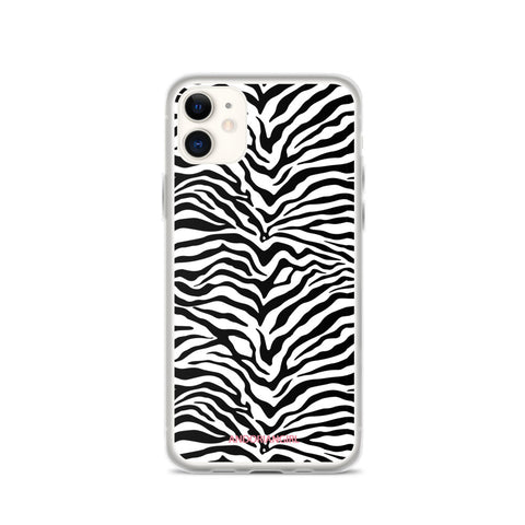 Wild Zebra iPhone Case