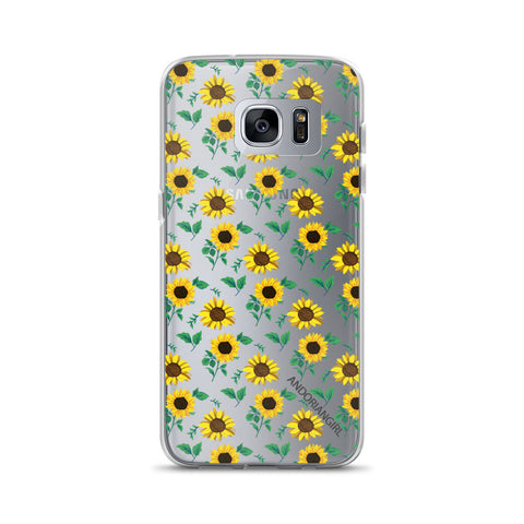 Sunflower Power Samsung Case