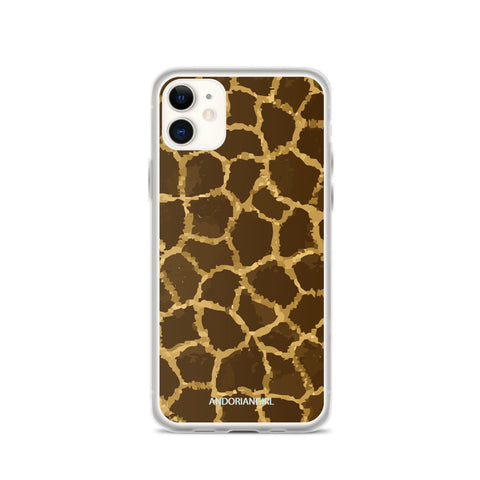 Wild Giraffe iPhone Case