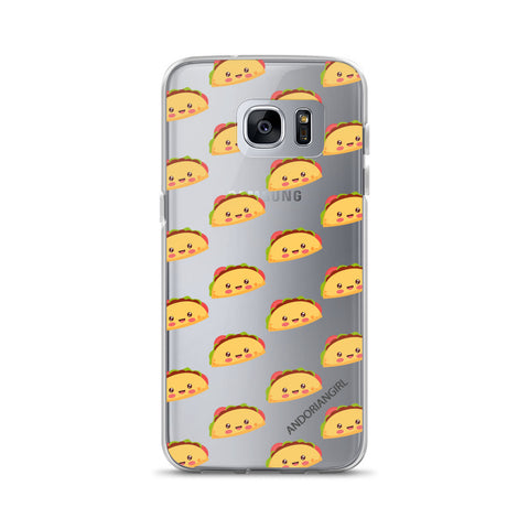 Taco Thoughts Samsung Case