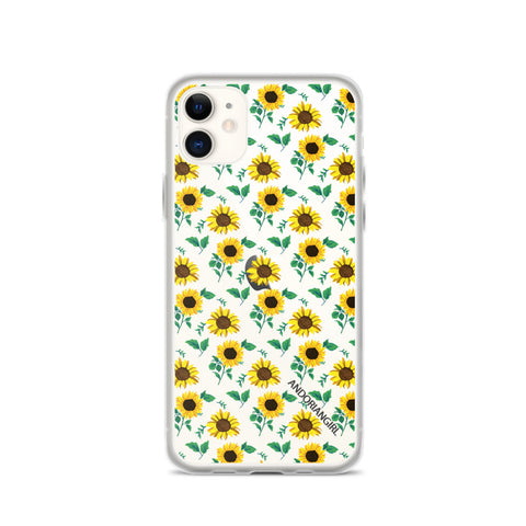 Sunflower Power iPhone Case