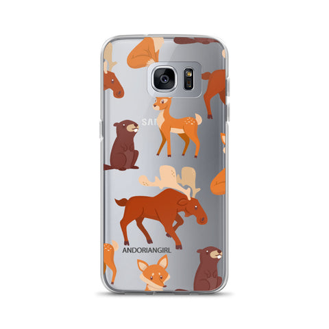 Falling For Animals Samsung Case