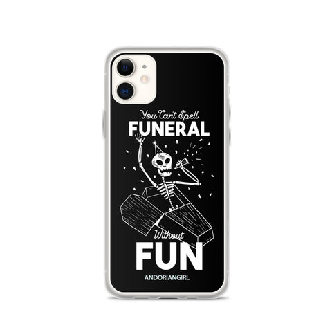 Funeral iPhone Case - Black