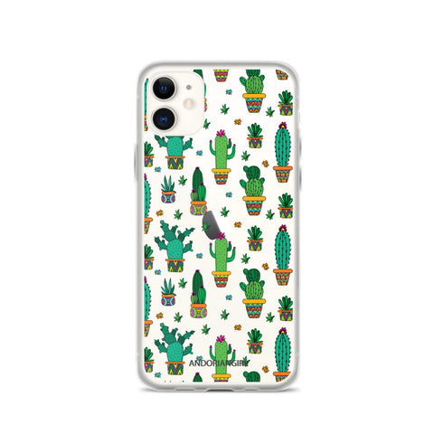 Cactus Power iPhone Case