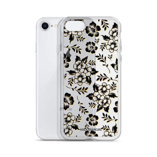 Flower Power iPhone Case - Black