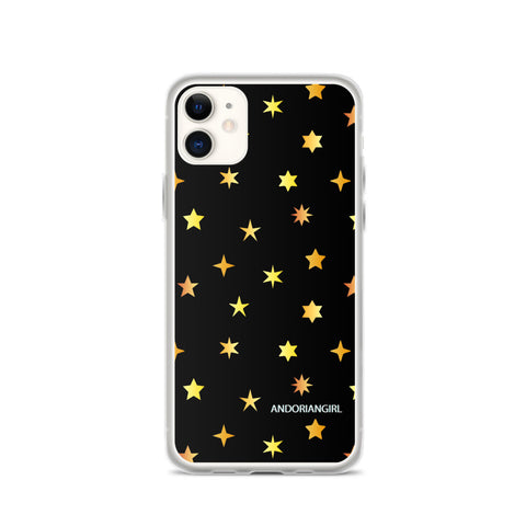 Golden Stars iPhone Case