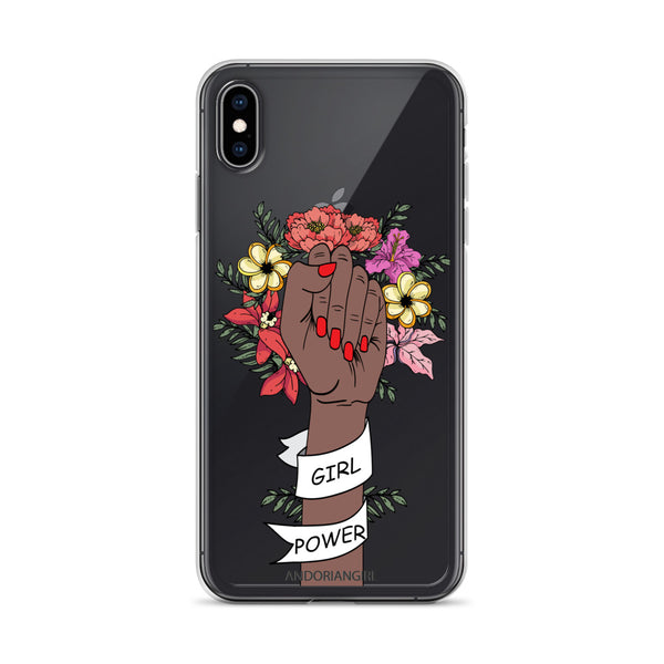 Girl Power iPhone Case - Dark