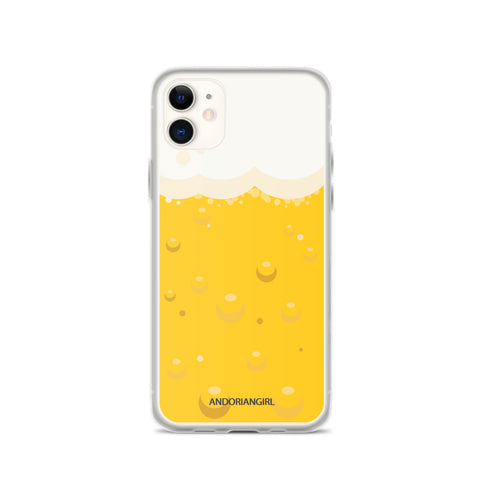 Beer Thoughts iPhone Case