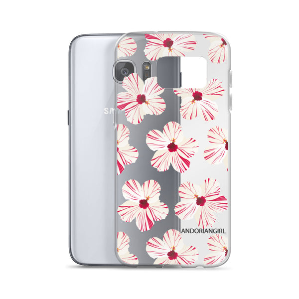 Hibiscus Power Samsung Case - White