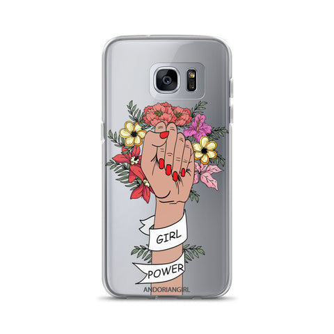 Girl Power Samsung Case - Medium