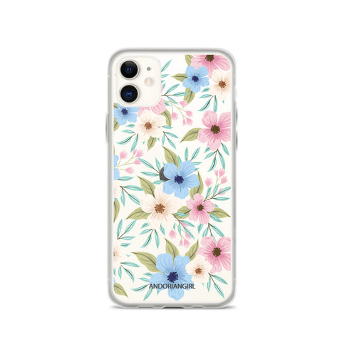 Petunia Power iPhone Case