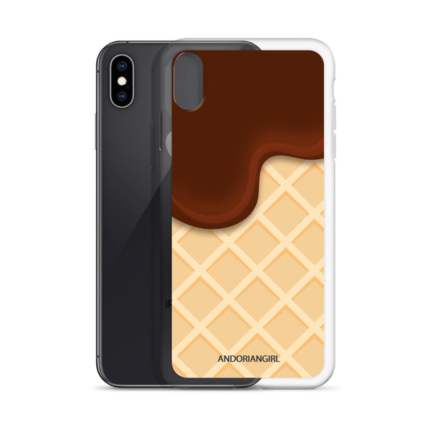 Ice Cream Thoughts iPhone Case