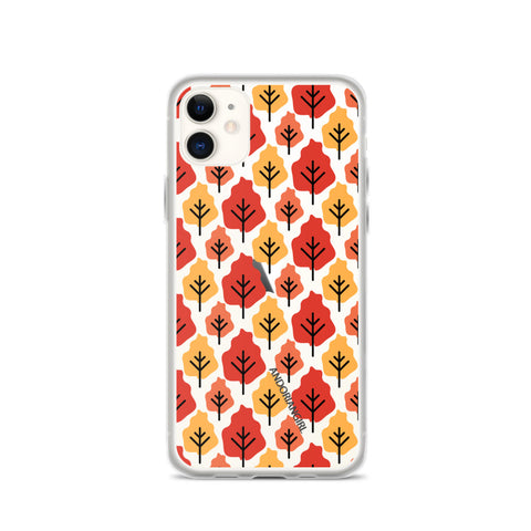 Falling For Trees iPhone Case
