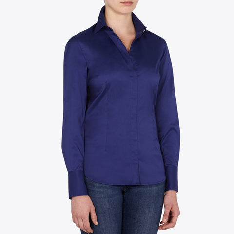 Kathryn cotton poplin shirt