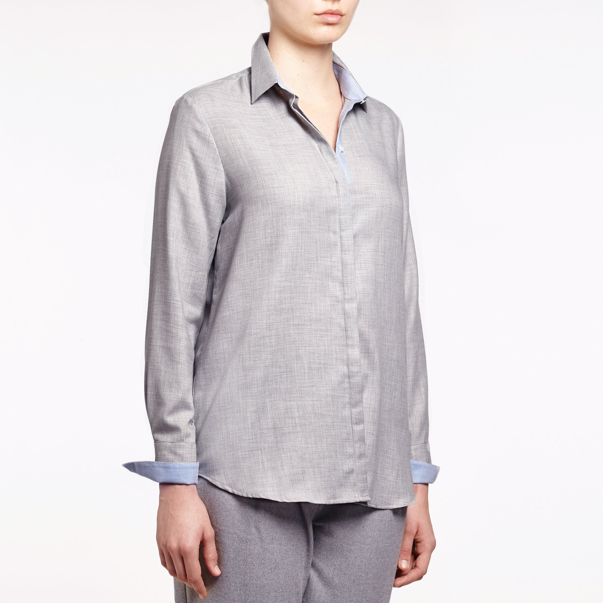 Valentina cotton cashmere shirt