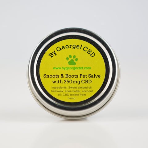 Snoots & Boots Pet Salve with 250mg of CBD