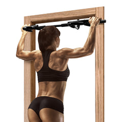 Doorway Pull-up Chin-up Bars Multi-Grip Workout Trainer for Home Gym