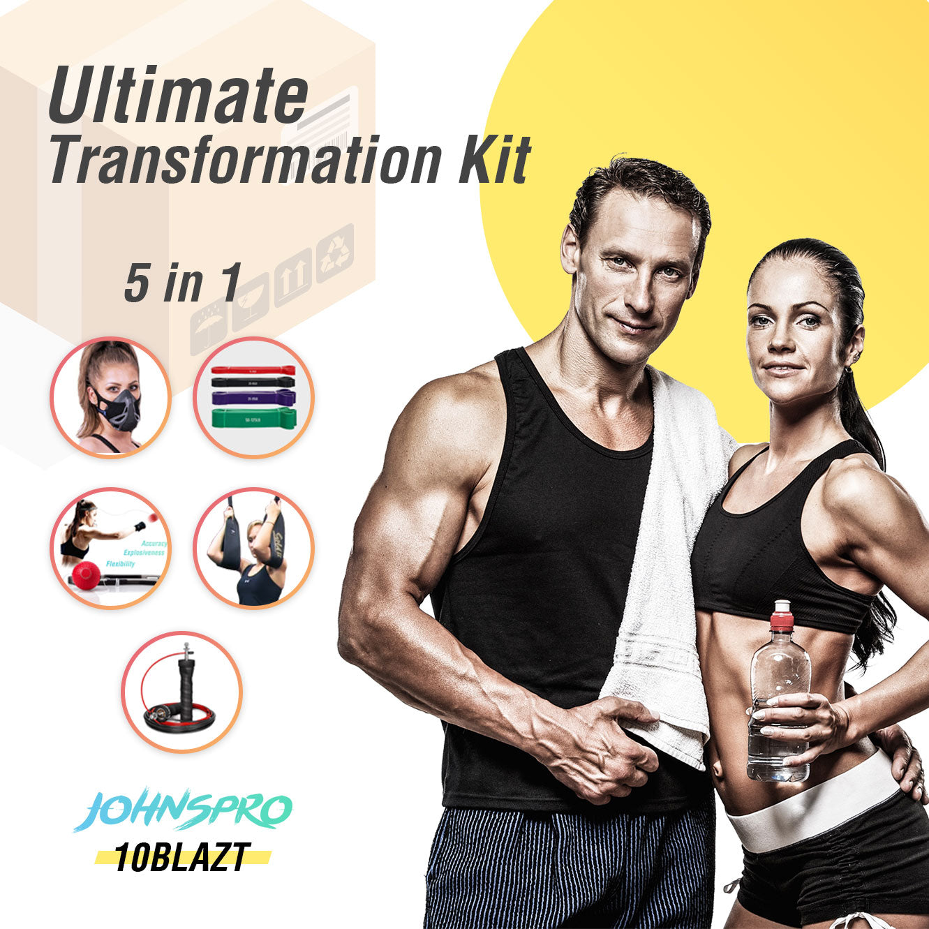 5 IN 1 Ultimate Transformation Kit