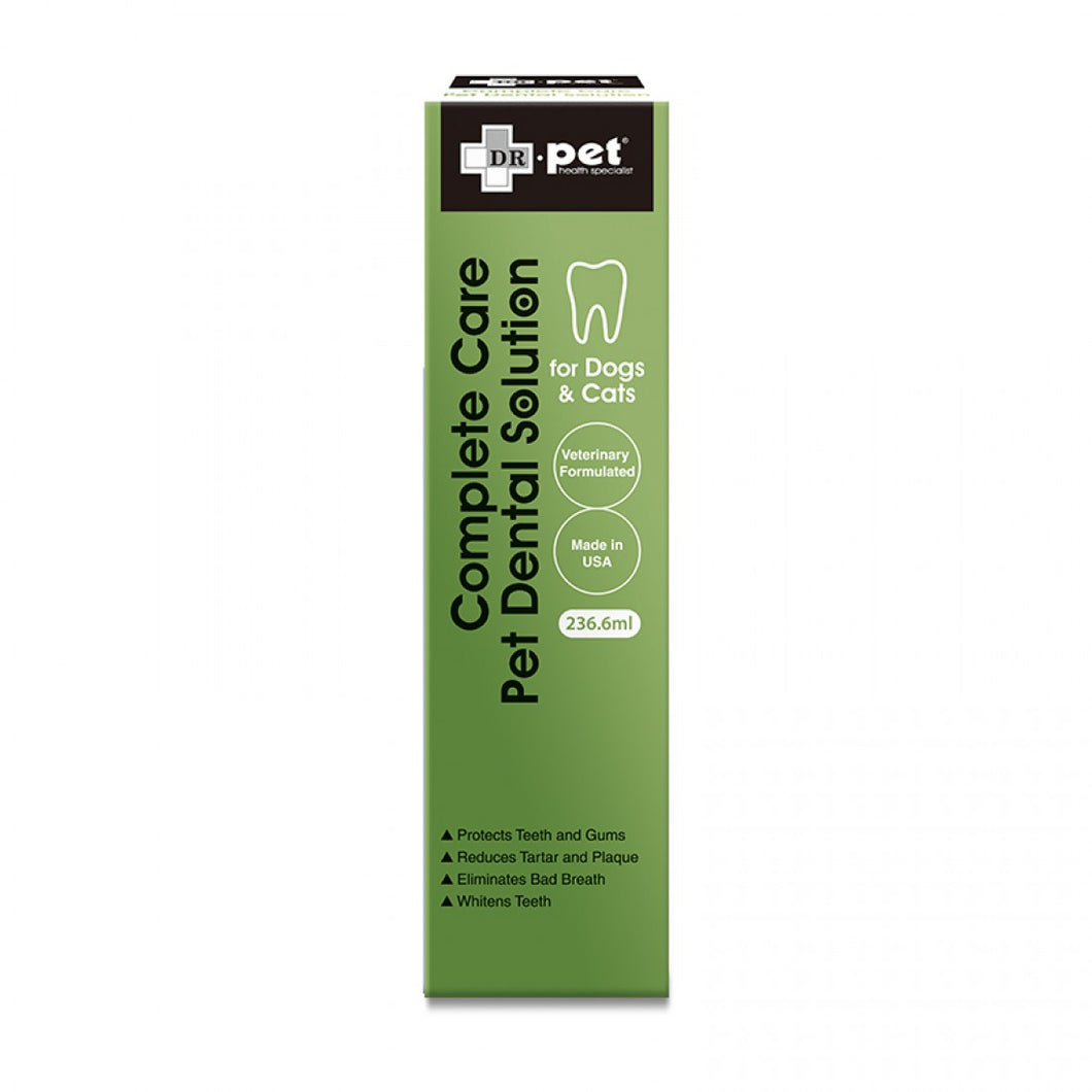 Dr.Pet Complete Care Pet Dental Solution 全方位護齒液 236.6ml