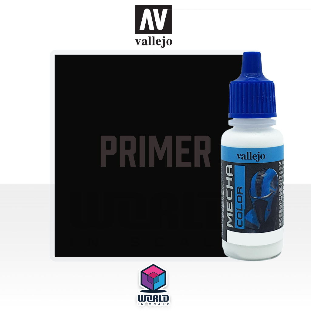 MECHA COLOR - 642 Black Primer 17ml.