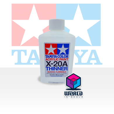 Tamiya ACRYL/POLY THINNER X-20A 250ML