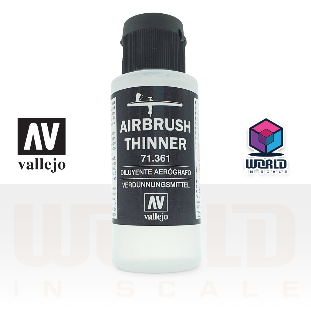 Vallejo Airbrush Thinner - 60ml.